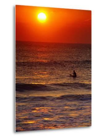 Surfer at Sunrise, FL