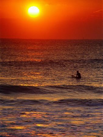 Surfer at Sunrise, FL by Jeff Greenberg