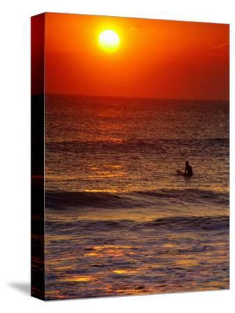 Surfer at Sunrise, FL