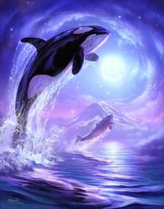 Aquatic Touch the Sky by Jeff Haynie