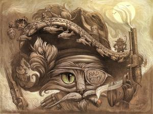 Bandito Cat by Jeff Haynie