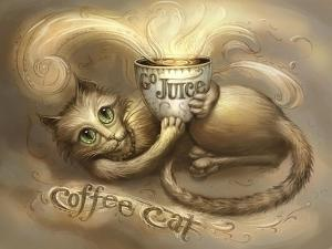 Coffee Cat Go Juice 2 by Jeff Haynie