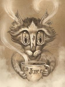 Coffee Cat Go Juice by Jeff Haynie