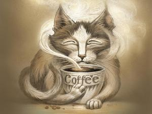 Coffee Cat by Jeff Haynie