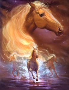 Fantasy Horse Dreams by Jeff Haynie