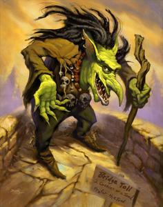 Fantasy Toll Troll by Jeff Haynie