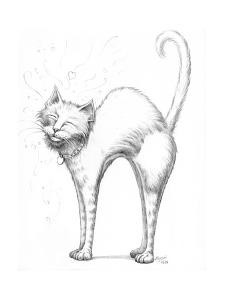 Love Scratch Pencil by Jeff Haynie