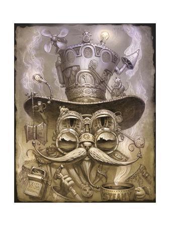 Steampunk Cat 2