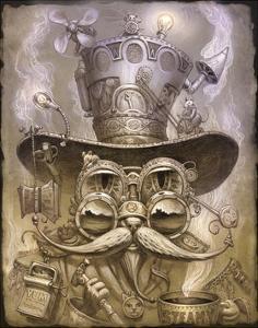 Steampunk Cat 2 by Jeff Haynie