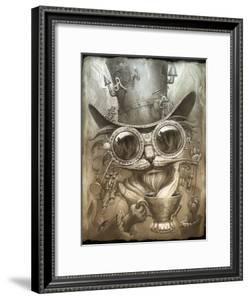 Steampunk Cat by Jeff Haynie