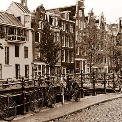 Autumn in Amsterdam I by Jeff Maihara