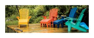 Muskoka Chairs, Nova Scotia by Jeff Maihara