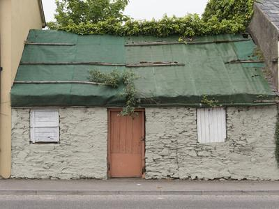A Tiny, Old House Along a Road in Milltown, County Kerry, Ireland