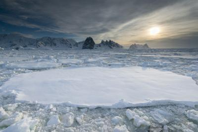 Entrance of the Lemaire Channel Along the Antarctic Peninsula by Jeff Mauritzen