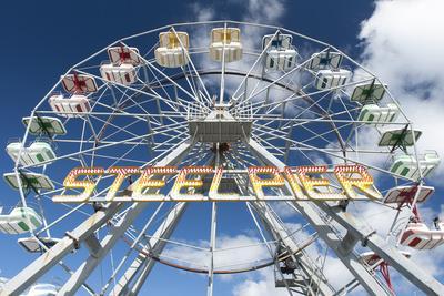 The Iconic Steel Pier Ferris Wheel in Atlantic City, New Jersey