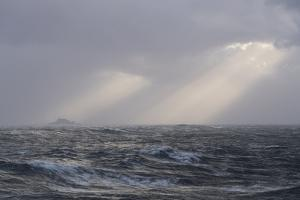 The Rough Waters That Surround Cape Horn, Part of the Tierra Del Fuego Archipelago by Jeff Mauritzen