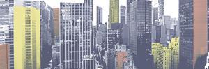 Pastel NYC Panorama by Jeff Pica