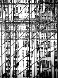 Reflections of NYC II by Jeff Pica