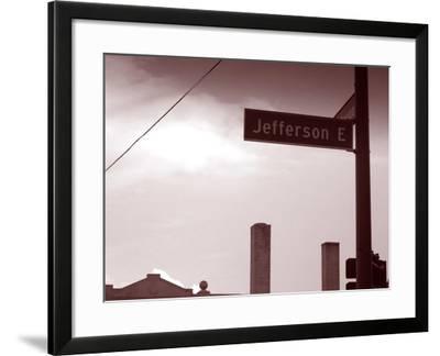 Jefferson Avenue-NaxArt-Framed Art Print