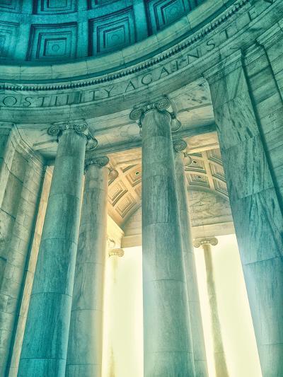Jefferson Memorial 17-Golie Miamee-Art Print