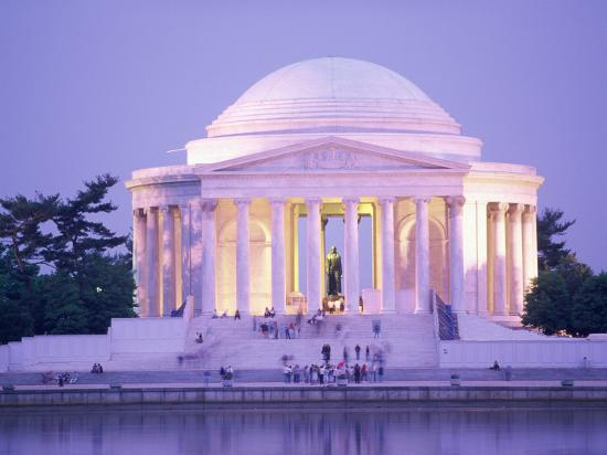 Jefferson Memorial, Washington, D.C., USA--Photographic Print