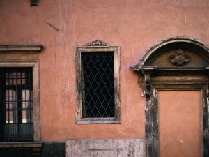Baroque Facade with Stonework,Verona, Veneto, Italy by Jeffrey Becom