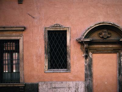 Baroque Facade with Stonework,Verona, Veneto, Italy