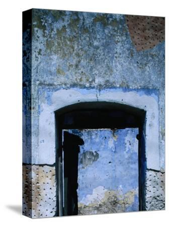Entrance to an Abandoned House in Vathi, Kalymnos, Greece