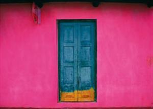 Fachada Rosa, Teopisca, Mexico by Jeffrey Becom