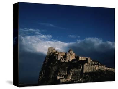 Fifteenth Century Castello d'Ischia in the Bay of Naples, Ischia, Campania, Italy