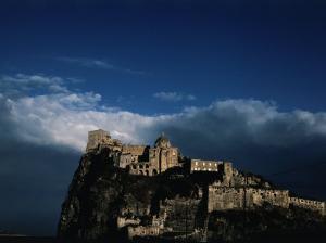 Fifteenth Century Castello d'Ischia in the Bay of Naples, Ischia, Campania, Italy by Jeffrey Becom