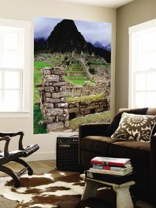 Huayna Picchu from Grounds of Inca Ruins by Jeffrey Becom