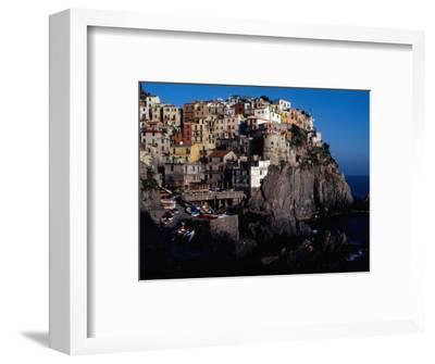 "Views of Cliff-Top Village from Via Dell"" Amore, Manarola, Italy"