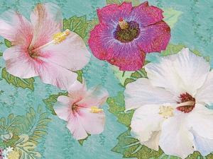 Hibiscus Flowers by Jeffrey Cadwallader