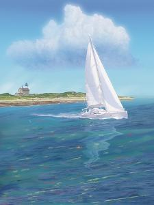 Sailboat Peace by Jeffrey Cadwallader