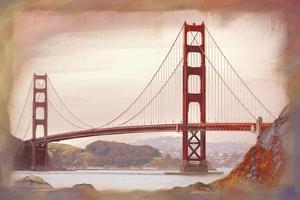 SF Golden Gate Bridge by Jeffrey Cadwallader