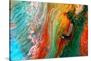 Epoxy Resin Petri Dish Art Macro Photo by Jekatarinka