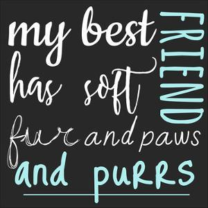 Best Friend Purrs by Jelena Matic