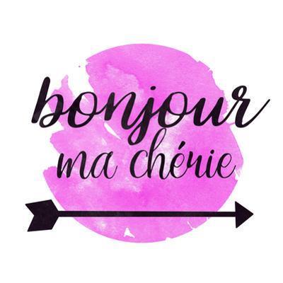 Bonjour Ma Cherie