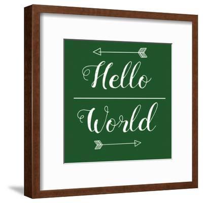 Hello World Green