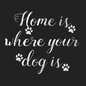 Home Is Where Dog Is by Jelena Matic