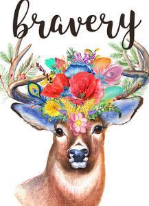 Sweet Deer by Jelena Matic