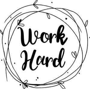 Work Hard by Jelena Matic
