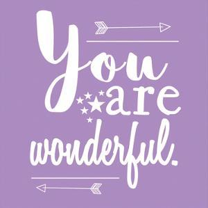 You Are Wonderful by Jelena Matic