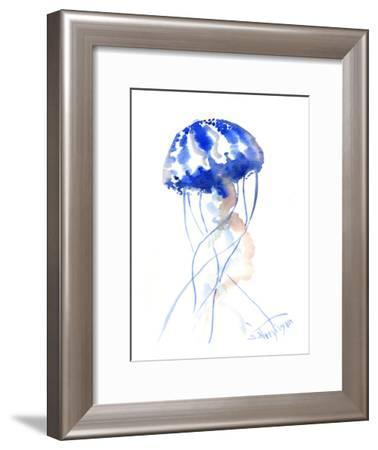 Jelly Fish 2-Suren Nersisyan-Framed Art Print