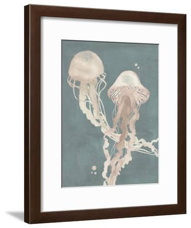 Jellyfish Dance I-Grace Popp-Framed Art Print
