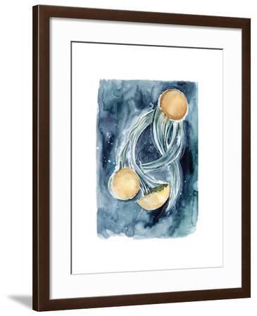 Jellyfish II-Sophia Rodionov-Framed Art Print