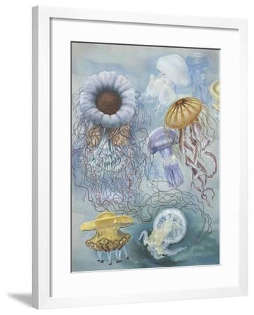 Jellyfish--Framed Giclee Print