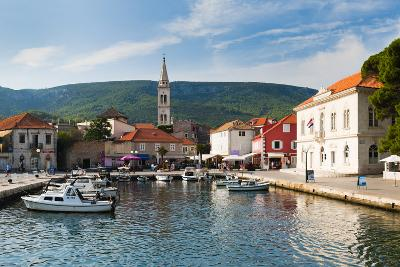 Jelsa Harbour, Hvar Island, Dalmatian Coast, Adriatic, Croatia, Europe-Matthew Williams-Ellis-Photographic Print