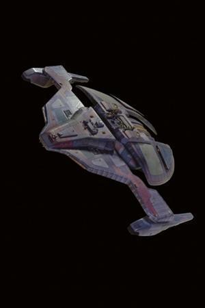 Jem'Hadar Spaceship Model, Used in 'Star Trek: Deep Space Nine', C.1993
